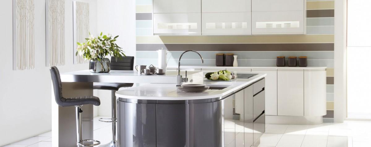 Modern Kitchens Worcestershire Malmo Gloss Kitchen