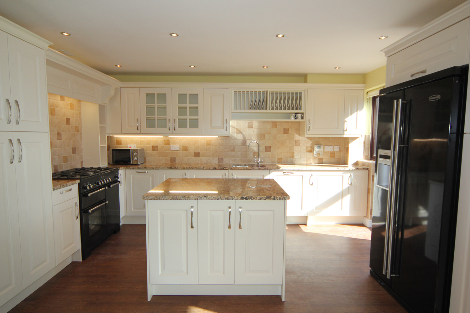 White Painted Timber Kitchen West Midlands Diamond